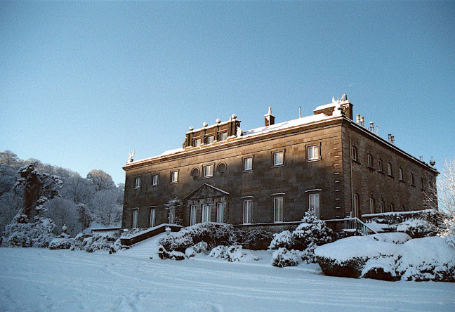 Things to do in County Mayo, Ireland - Winter Wonderland at Westport House - The house looks festive - YourDaysOut - Photo 3