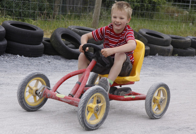 Things to do in County Kilkenny, Ireland - Nore Valley Park - Race each other on our pedal go-karts - YourDaysOut - Photo 4