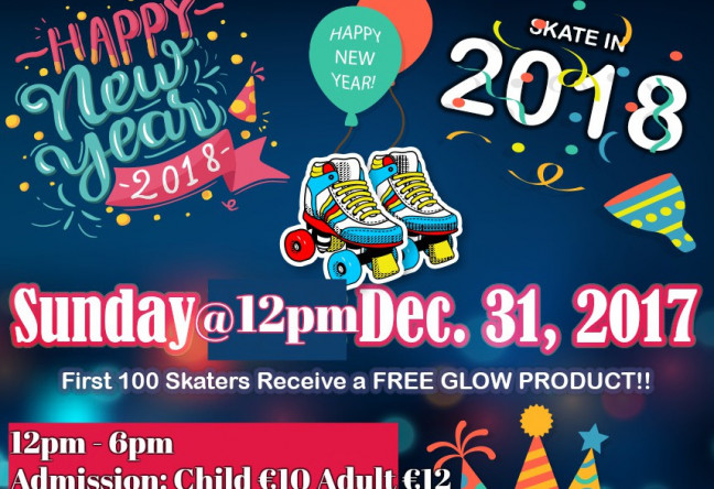 Things to do in County Limerick, Ireland - New Years Eve Roller Disco - YourDaysOut