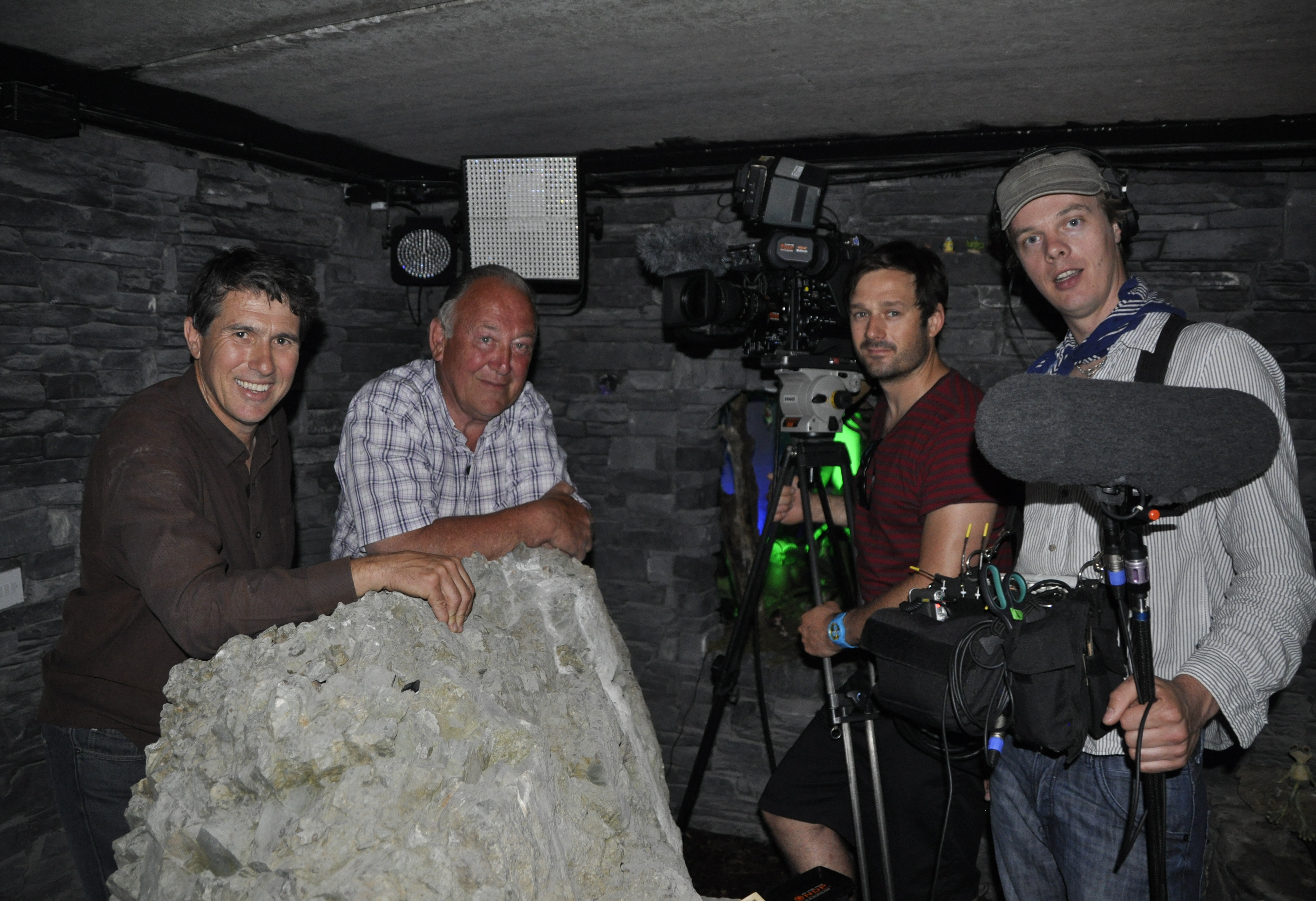 Things to do in County Louth, Ireland - Leprechaun and Fairy Cavern - Dutch TV crew below the earth - YourDaysOut - Photo 8