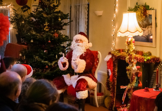 Things to do in County Galway, Ireland - Santa's Christmas Magic - Santa Claus at Brigit's Garden - YourDaysOut - Photo 1