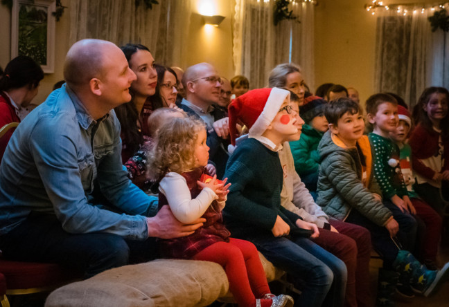 Things to do in County Galway, Ireland - Santa's Christmas Magic - Audience at Santa's Christmas Magic - YourDaysOut - Photo 2