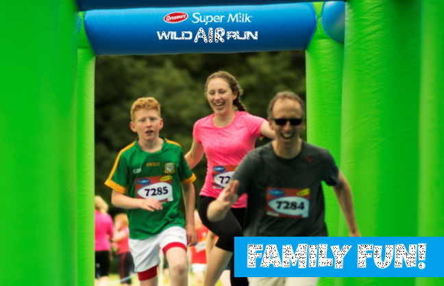 Things to do in County Dublin, Ireland - Super Milk Wild Air Run, Malahide Castle - YourDaysOut