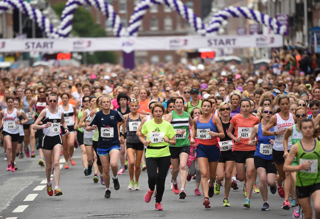 Things to do in County Dublin, Ireland - VHI Women's Mini Marathon - YourDaysOut