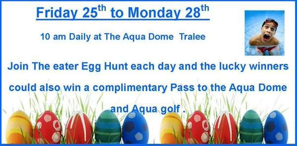 Things to do in County Kerry, Ireland - Aqua Dome Easter Egg Hunt - YourDaysOut