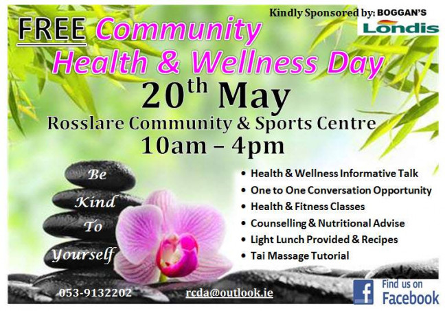 Things to do in County Wexford, Ireland - FREE Community Health & Wellness Day - YourDaysOut