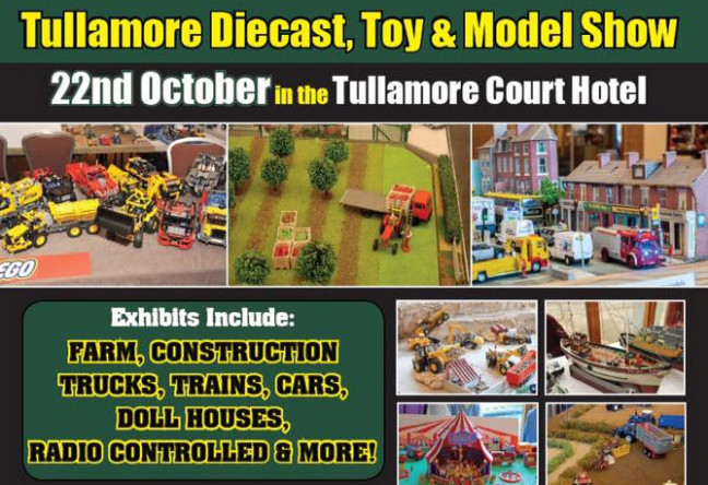 Things to do in County Offaly, Ireland - Tullamore Diecast, Toy And Model Show - YourDaysOut