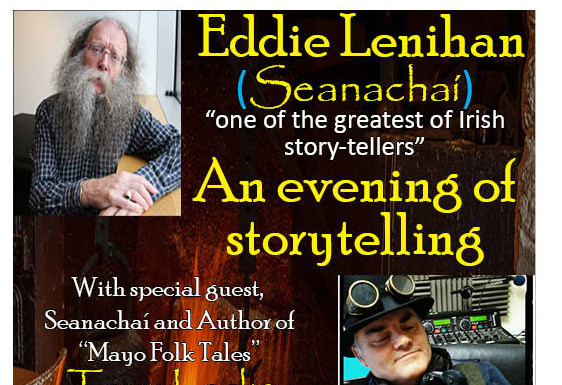 Things to do in County Mayo, Ireland - Eddie Lenihan-An evening of story telling - YourDaysOut