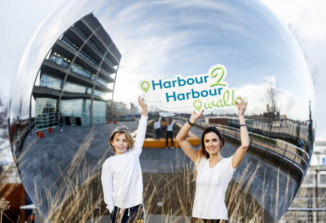 Things to do in County Dublin, Ireland - 14th annual Harbour2Harbour charity walk in aid of Aware - YourDaysOut