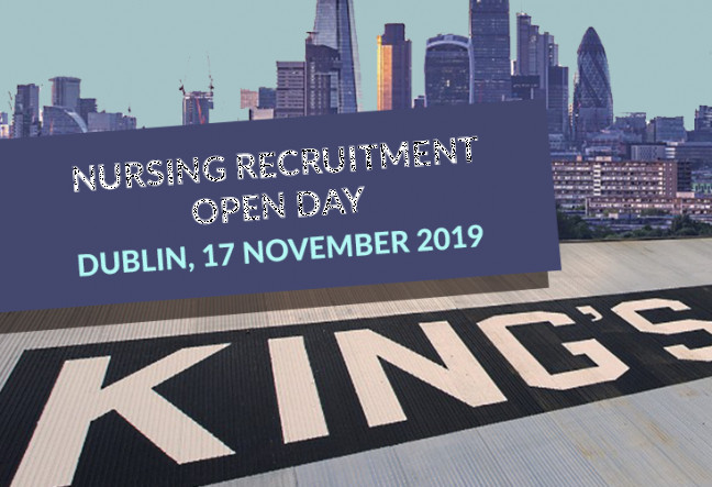 Things to do in County Dublin, Ireland - King's College London- Nursing Recruitment Open Day - YourDaysOut